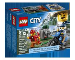 Image du produit Lego - Lego City poursuite hors route, 1 unité