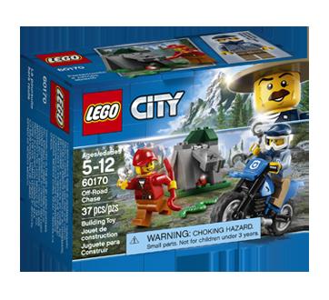 Lego City poursuite hors route, 1 unité