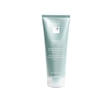 Pure Lait nettoyant démaquillant micellaire anti-pollution, 200 ml