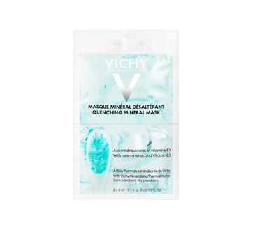 Masque minéral désaltérant sachet, 2 x 6 ml