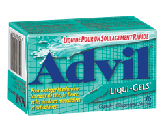 Image du produit Advil - Advil Liqui-Gels, 16 capsules