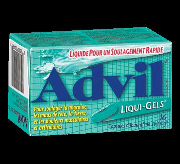Image du produit Advil - Advil Liqui-Gels, 16 unités