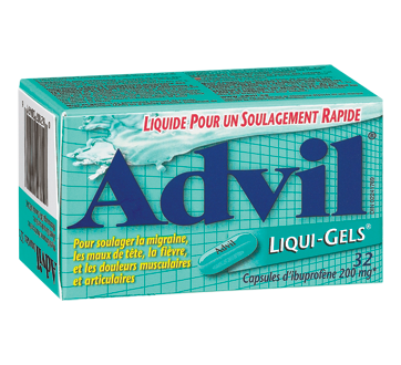Image du produit Advil - Advil Liqui-Gels, 32 unités