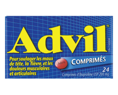 Image du produit Advil - Advil comprimés, 24 comprimés