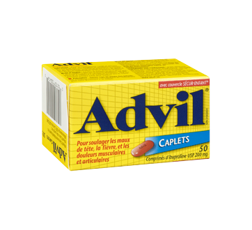 Image 2 du produit Advil - Advil comprimés, 50 unités