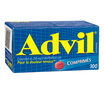Image du produit Advil - Advil comprimés, 100 unités