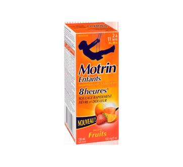 Image 2 du produit Motrin - Motrinsuspension orale pour enfants sans colorant, 120 ml, fruits