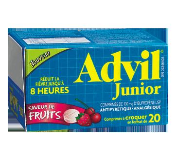 Image du produit Advil - Advil Junior comprimé à croquer, 20 unités, fruits