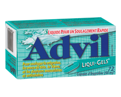 Image du produit Advil - Advil Liqui-Gels, 72 capsules