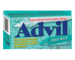 Image du produit Advil - Advil Liqui-Gels, 72 unités