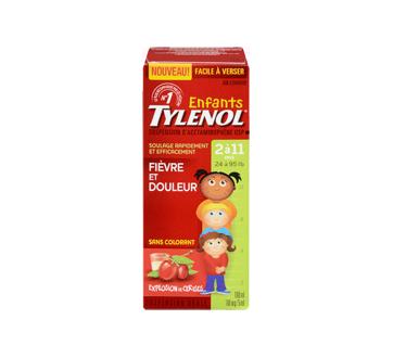 Image 3 du produit Tylenol - Tylenol suspension orale d'acétaminophène pour enfants sans colorant, 100 ml, cerise