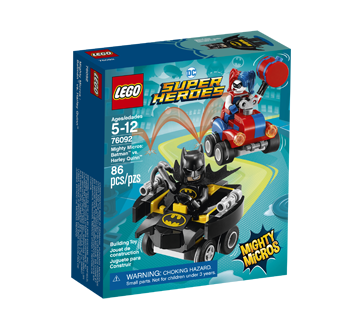 Lego DC Super Heroes Batman contre Harley Quinn, 1 unité