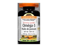 Image du produit Webber - Holista Oméga–3 huile de poisson, 120 unités