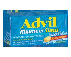Image du produit Advil - Advil Liqui-gelsMD rhume et sinus, 40 capsules