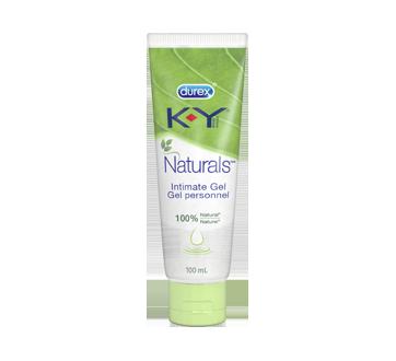 Image du produit K-Y - Lubrifiant personnel de K-Y, Naturals, gel, 100 ml