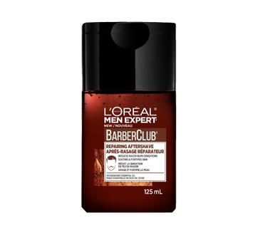 Men Expert BarberClub après-rasage réparateur, 125 ml,  huile essentielle de bois de cèdre
