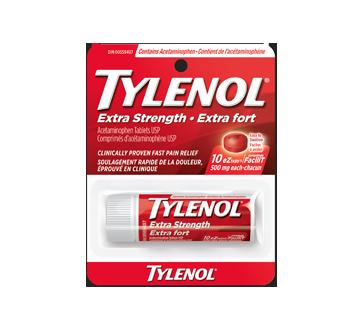 Image du produit Tylenol - Extra fort, comprimés FaciliT 500 mg, 10 unités