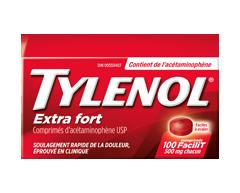 Image du produit Tylenol - Tylenol extra fort 500 mg, 100 unités