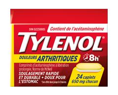 Image du produit Tylenol - Tylenol Douleurs Arthritiques, 24 unités