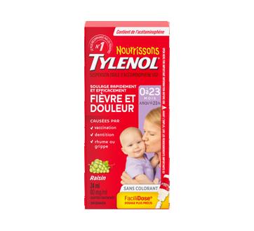 Image du produit Tylenol - Tylenol pour nourrissons gouttes concentrées de suspension d'acétaminophène, 24 ml, raisin
