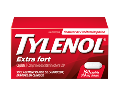 Image du produit Tylenol - Tylenolextra fort caplets 500 mg, 100 unités