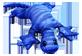 Vignette du produit manimo - Lézard lourd, 2 kg, bleu