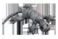 Vignette du produit manimo - Lézard lourd, 2 kg, argent
