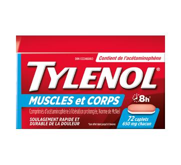 Image du produit Tylenol - Tylenol douleurs musculaires et courbatures, 72 unités