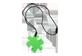 Vignette du produit fdmt - Pendentif casse-tête, 1 unité, vert