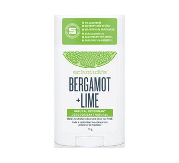 Savon déodorant naturel bergamote + lime, 75 g