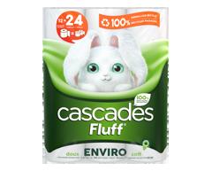 Image du produit Cascades - Fluff Enviro papier hygiénique, 12 unités