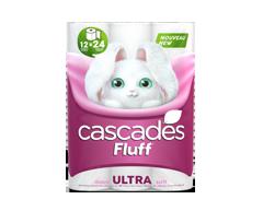 Image du produit Cascades - Fluff Ultra papier hygiénique, 12 unités