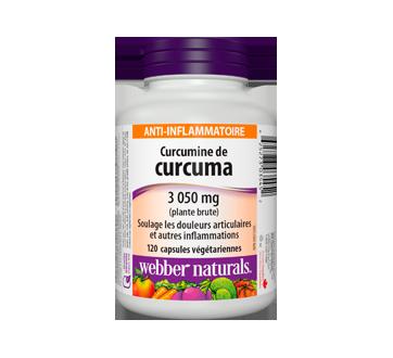 Image du produit Webber - Curcumine de curcuma capsules, 120 unités