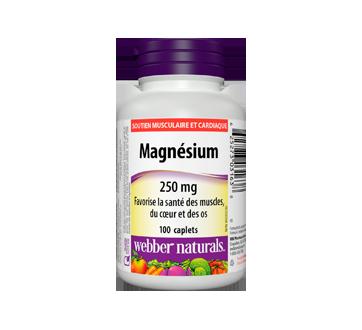 Image du produit Webber - Magnésium capsules, 100 unités