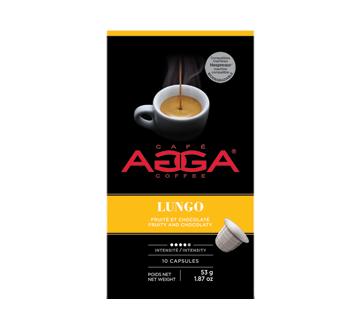 Lungo capsules de café, 53 g