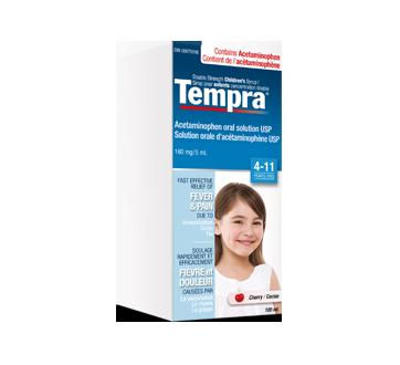 Image du produit Tempra - Sirop pour enfants concentration double 160 mg / 5 ml, 100 ml, cerise