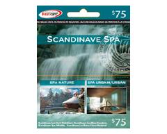 Image du produit Incomm - Carte-cadeau Scandinave Spa de 75 $, 1 unité