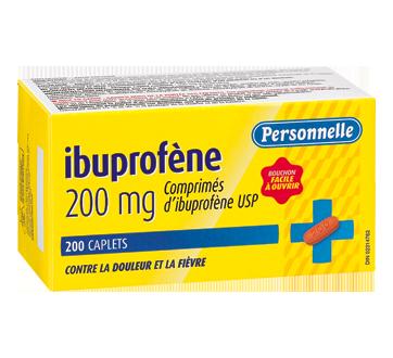 Image du produit Personnelle - Comprimés d'ibuprofène 200 mg, 200 unités