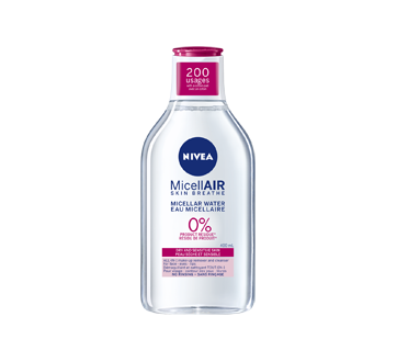 MicellAIR eau micellaire, 400 ml, peau sèche et sensible