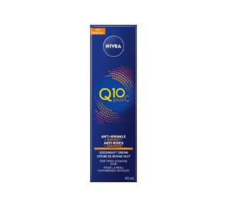 Q10 Plus C Anti-Rides + Énergie crème de nuit, 40 ml