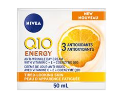 Image du produit Nivea - Q10 plus C Anti-Rides + Énergie crème de jour, 50 ml