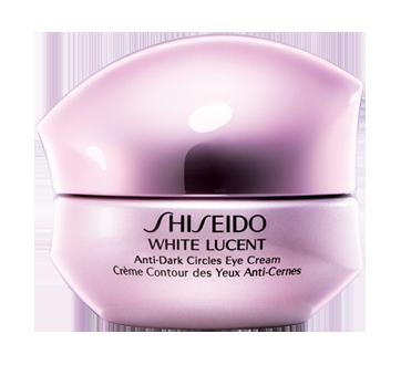 white lucent cr me contour des yeux anti cernes 15 ml shiseido hydratant jean coutu. Black Bedroom Furniture Sets. Home Design Ideas