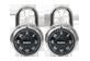 Vignette du produit Master Lock - Cadenas à combinaison à 3 chiffres, 2 unités