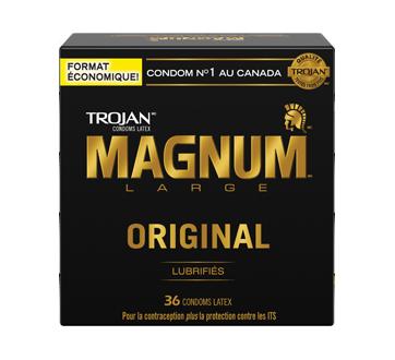 Image 1 du produit Trojan - Magnum Original condoms, 36 unités