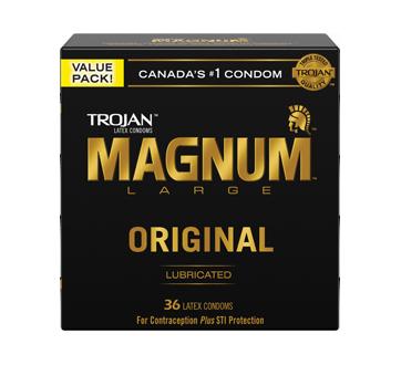Image 2 du produit Trojan - Magnum Original condoms, 36 unités