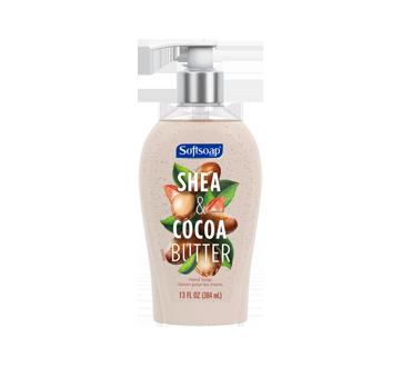 Décor pompe de savon liquide pour les mains, 13 oz, beurres de karité & cacao