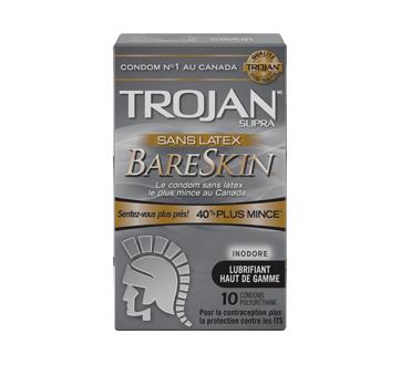 Image 1 du produit Trojan - BareSkin sans latex condoms, 10 unités