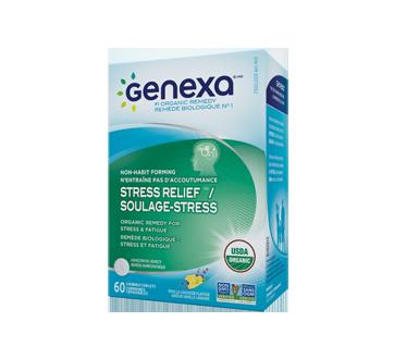 Image du produit Genexa - Soulage stress remède biologique stress et fatigue, 60 unités
