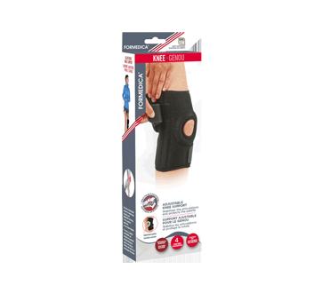 Support ajustable pour le genou, 1 unité, petit/moyen, 33 - 41 cm, noir