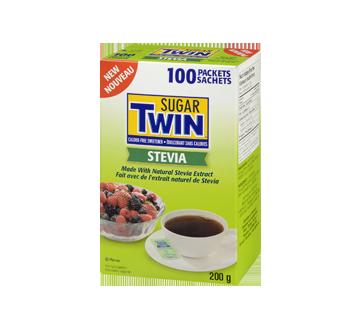 Sugar Twin Stevia, 100 sachets